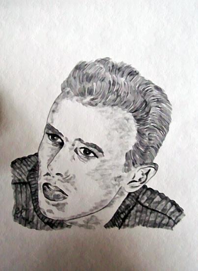 James Dean por sky2065